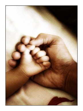 father-Daughter-holding-hands