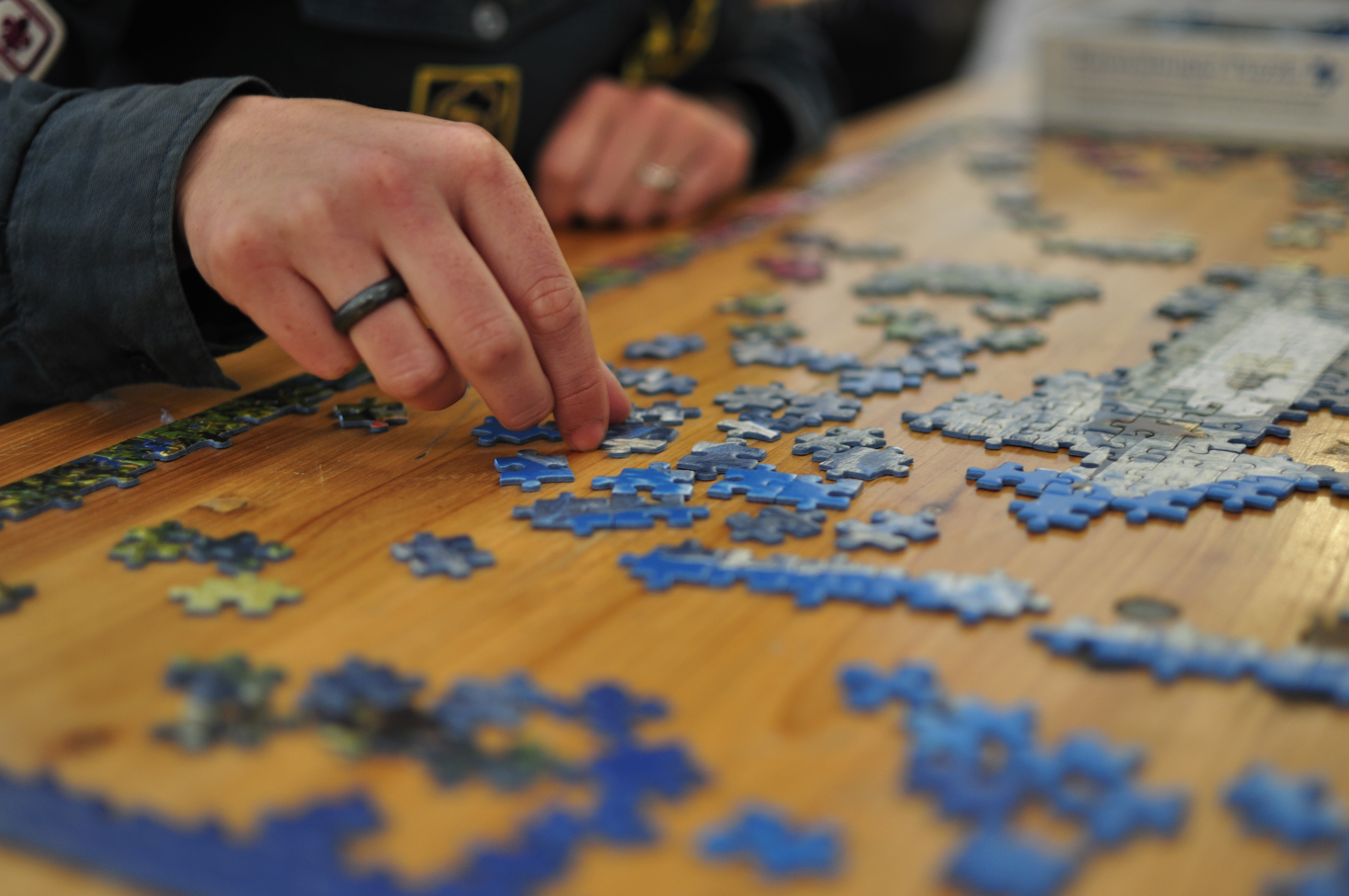 Image result for doing jigsaw puzzles