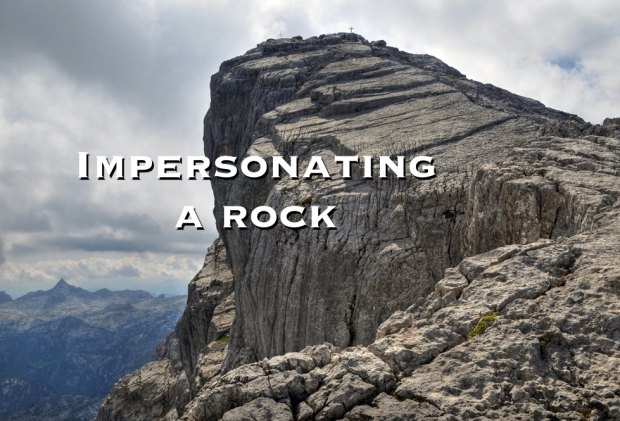 Impersonating a rock.001